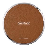 Jual Nillkin Wireless Charger Magic Disk III Fast Charge edition - Coklat Murah