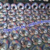 souvenir ultah bantal leher Pokemon & foto fullprinting