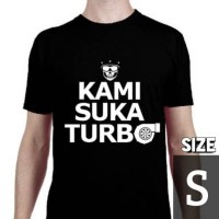 Kaos Motomobi Kami Suka Turbo (size S) by MotomobiTV Official Merch