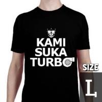 Kaos Motomobi Kami Suka Turbo (size L) by MotomobiTV Official Merch