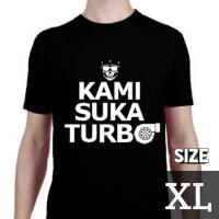 Kaos Motomobi Kami Suka Turbo (size XL) by MotomobiTV Official Merch