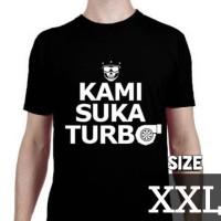 Kaos Motomobi Kami Suka Turbo (size XXL) by MotomobiTV Official Merch