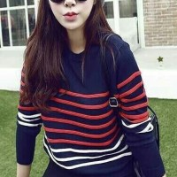 Sweater shoppy knit