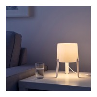 Lampu Meja Kamar Tidur IKEA Tvars Lamp Ruang Tamu Minimalis