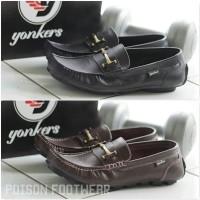 Jual [PF] Yonkers Casual Leather Sepatu Casual Pria Kulit Asli Murah