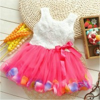 Baju Dress Pesta Anak Perempuan