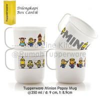 Tupperware Minion Papoy Mug - 4pcs FREE Gift Box