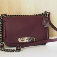 Coach Swagger Turnlock Crossbody