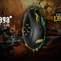 Razer Naga Hex League of Legend 5600dpi Macro Gaming Mouse Murah Mouse