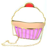 Jual Tas Selempang 3D Cartoon Bag Cute Korean Sling Bag Cupcake Murah