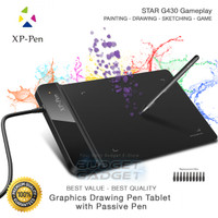 XP-Pen Smart Graphics Drawing Pen Tablet with Passive Pen - G430