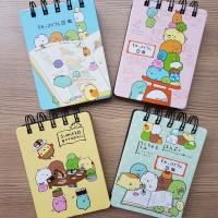 Note Book Mini Spiral Kakao Friends, Sumikko, Kelinci, Kucing