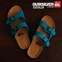 sandal wanita flat shoes / sandal sepatu wanita quicksilver