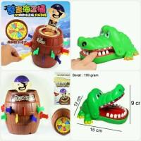 Dahsyat 2in1 Pirate Roulette + Crocodile Dentist