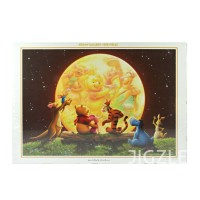 harga Tenyo D-1000-222 Pooh - Moonlight Party 1000 Pieces Jigsaw Puzzle Tokopedia.com
