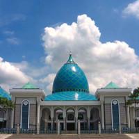 Kartu Pos / Postcard MASJID AGUNG SURABAYA