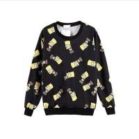Simpsons sweater black