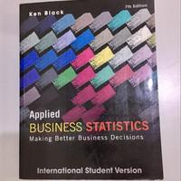 Applied Business Statistics 7th edition Ken Black