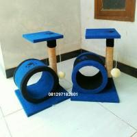 mainan kucing/cat scratcher/garukan kucing/cat condo/cat tree