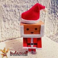 Jual Boneka Kayu Danbo Santa Claus Kado Natal Christmas Romantis Unik Lucu Murah