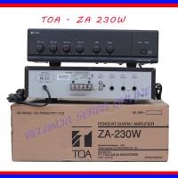 harga Amplifier Mixer Toa Za-230w 30w Tokopedia.com