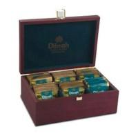 Dilmah Luxury Tea Set Wooden Box Teh Kotak Kayu Isi 60 pcs Import