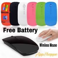 Harga mouse wireless magic mouse optical 2 4ghz macbook laptop windows 7   Hargalu.com
