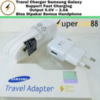 Jual CHARGER SAMSUNG ORI 99% FAST CHARGING GALAXY NOTE 4 NOTE 5 S6 ASUS DLL Murah