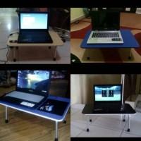 Jual meja laptop/meja belajar/meja lipat/portable Murah