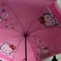 Jual payung terbalik hello kitty Murah