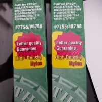 Refill ribbon/ pita printer epson lx300 lx 310 7755/ 8758 HP nylon