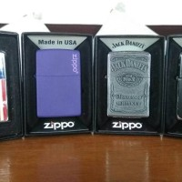 Jual Zippo Original Kolpri Baru (Orange Seal) & Second + Bonus Murah