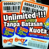 Jual Perdana Bolt Unlimited 30 Hari Tanpa Batasan Kuota Murah