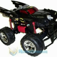 TYCO GIANT LARGE REMOTE CONTROL RC TRUCK BATMAN BATMOBILE MONSTER JAM