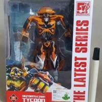 Mainan action figure Transformer Bumblebee Bisa transform Jadi mobil