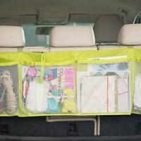 Keranjang Panjang belakang jok mobil Tas Kantong Jaring Interior mobil