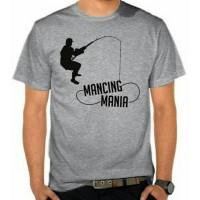 kaos/baju/t-shirt mancing mania