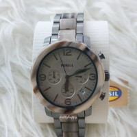 Fossil natalie JR 1384 Grey marble watch