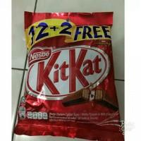 Jual kitkat kit kat malaysia 12 + free 2 Murah