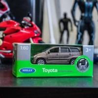 Diecast Toyota Kijang Innova brown by Welly ORIGINAL 1/60
