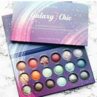 BH COSMETICS GALAXY CHIC - 18 COLOR BAKED EYESHADOW PALETTE