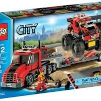Lego 60027 City : Monster Truck Transporter