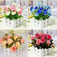 Jual Small Fence Wood Flower / Bunga Pagar Pajangan Murah