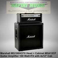Marshall MG100HCFX / MG-100HCFX / MG 100 HCFX Head+MG412CAF Cabinet