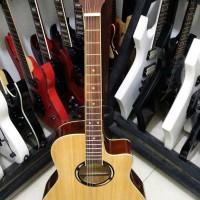 Gitar Ibanez Akustik Elektrik Natural