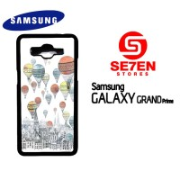 Casing HP Samsung Grand Prime Up Balloons Custom Hardcase