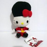 Boneka Hello Kitty England Kingdom Guardian Original Sanrio Japan