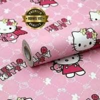 Wallpaper Hello Kitty 10 Meter * 45 Cm HK Hellokitty