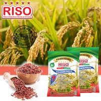 RISO TANAH ALAMI / SOIL NATURAL GOLDEN RED RICE 0,5LITER (BERAS MERAH)