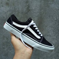 fcab17f769 VANS OLD SKOOL BLACK WHITE PREMIUM FULL TAG MADE IN CHINA